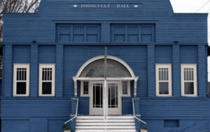 Roosevelt Hall Front Elevation